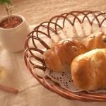 レーズンバターのパンです